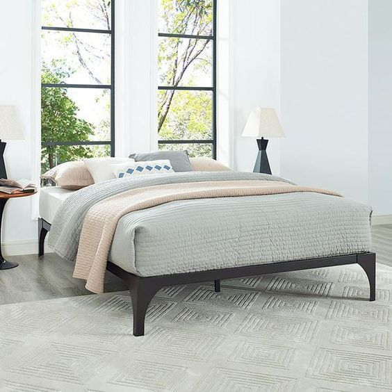 25 Best Ideas About King Bed Frame On Pinterest King