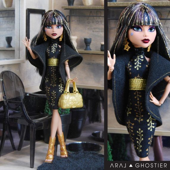 Hey, I found this really awesome Etsy listing at https://www.etsy.com/listing/228802615/monster-doll-gold-summer-dress