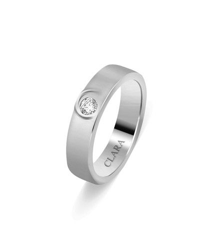 Twisted C Sterling Silver Swarovski Ring - CSWZR49  #silver jewellery, #rings for men, #swarovski rings, #mens rings, #silver rings for men, #rings online, #fashion jewelry #designer rings, #rings online india, #swarovski india, #swarovski online, #wedding rings, #band ring, #online gold jewellery, #jewelry online, #gold rings online