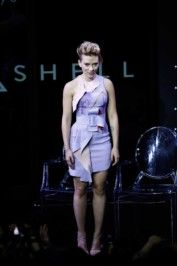 "Scarlett Johansson - ""Ghost in the Shell"" Global Trailer Launch in Tokyo on Nov 13 (4 Photos)"