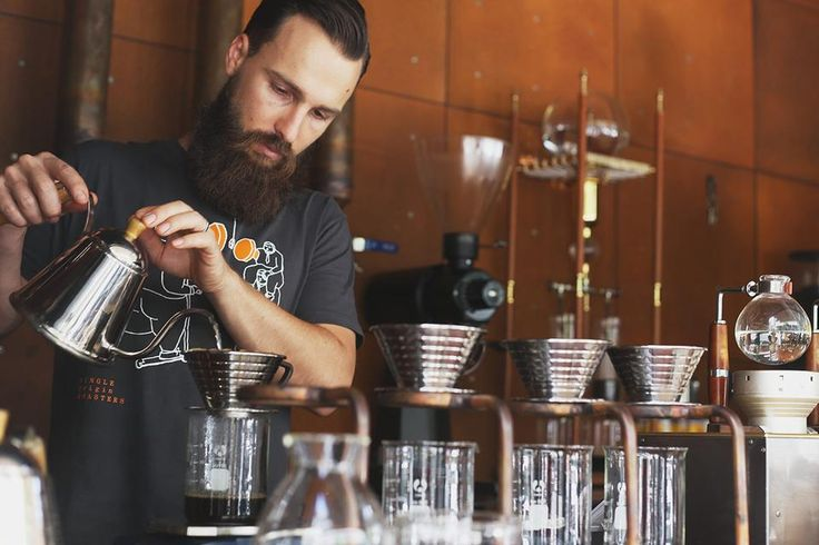 Single Origin Roasters Surry Hills - Considered one of the best coffee shops in town #Sydney