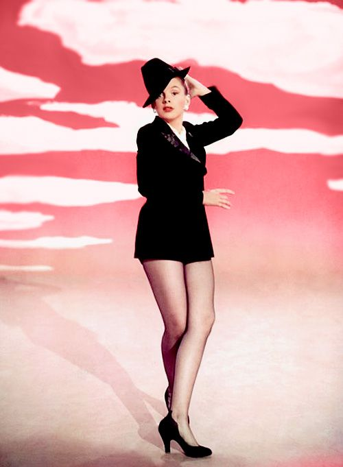 "Judy Garland singing ""Get Happy"" in one of her most hip, classy, stylish musical numbers. From the musical SUMMER STOCK (1950). One of her   most powerful performances."