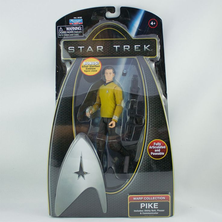 Pike, Includes: utility belt, phaser & communicator Check more at https://spacewizards.ca/product/pike/