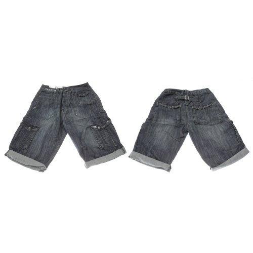 Brave Soul #Mens #Summer #Wear Denim Cargo Shorts