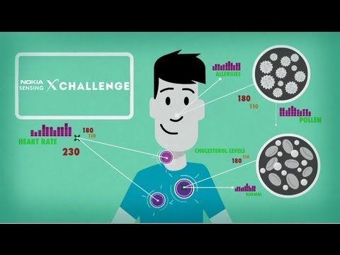 Better Data Means Better Health | Nokia Sensing XCHALLENGE - YouTube
