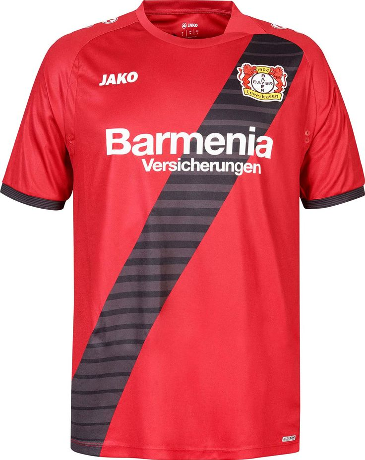 The new Bayer Leverkusen 2016-17 away kit introduces a powerful look for the first-ever Leverkusen away shirt by new jersey supplier Jako.