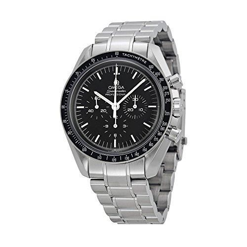 MAN ON THE MOON WATCH - AND ON SALE! Omega Men's 31130423001005 Speedmaster Analog Mechanical Hand Wind Chronograph Watch