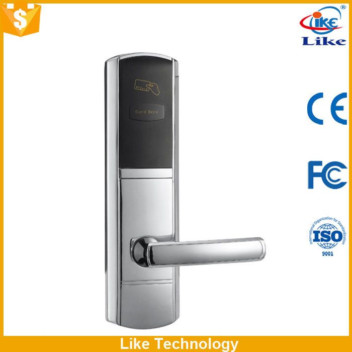 security hotel door security latch with energy saving switch