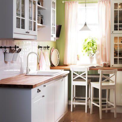 14 best cuisines images on Pinterest Small spaces, Deco cuisine - küche aus holz