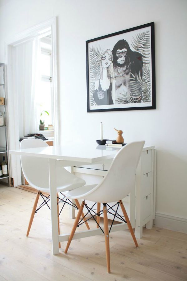 15 Of The Most Amazing Foldable Table Designs Housely Ikea Dining Table Dining Room Small Ikea Dining Room