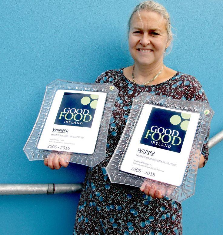 Good Food Ireland awards for Burren Smokehouse