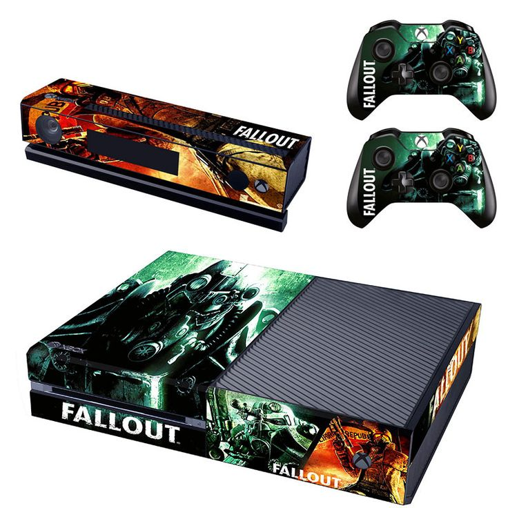 Fallout 4 xbox one skin for console and controllers