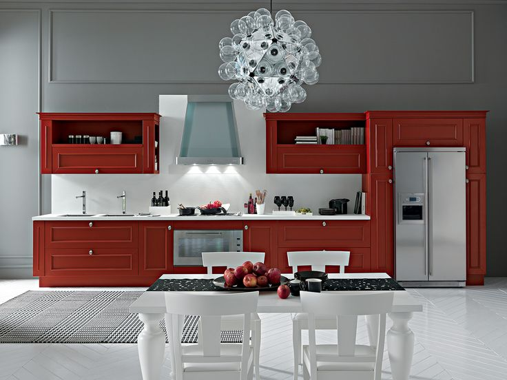 #Red, #traditional #modern #contemporary #white #Euorcasa