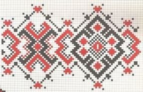 garage: romanian cross stich pattern