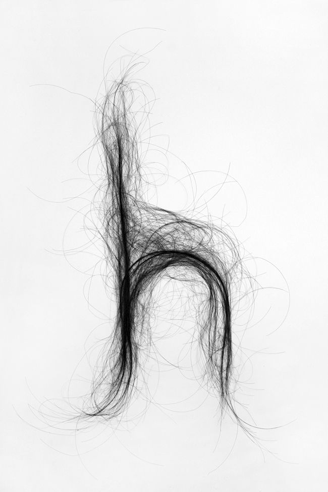 Monique Goossens | Typography hair