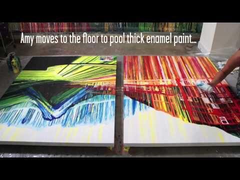 amazing paintings done without paintbrushes