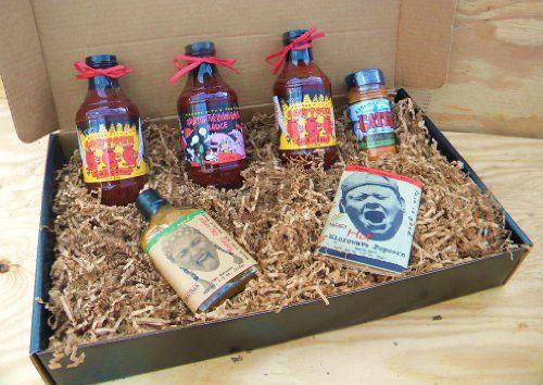 Oklahoma Joe's Kansas City Barbecue Sauce Deluxe Gourmet Box Set