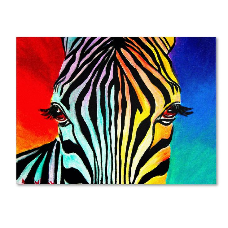 <li>Artist: DawgArt</li> <li>Title: 'Zebra'</li> <li>Product type: Giclee, gallery wrapped</li>
