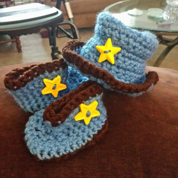 Baby cow boy hat boots