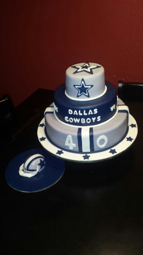 42 best Dallas Cowboys Cakes images on Pinterest Cowboy cakes