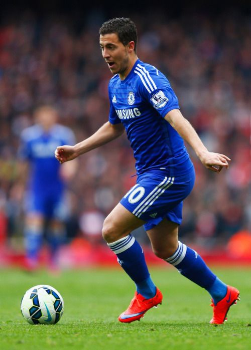 El bailao de Eden Hazard a favor del Chelsea FC, virtualmente campeón.