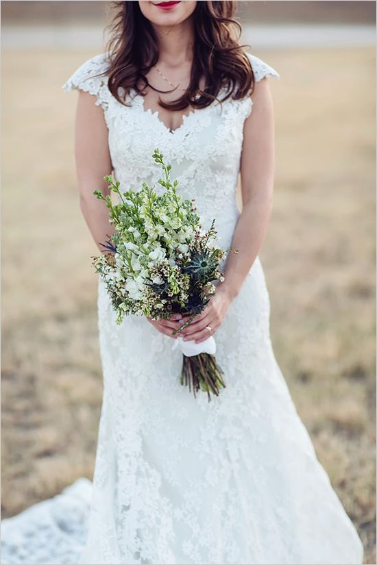 lace wedding gown by Allure Bridals   -- I just realized the other day that about 30% of the dresses I fanatically pin are from Allure. I think I found a fave designer... LOL