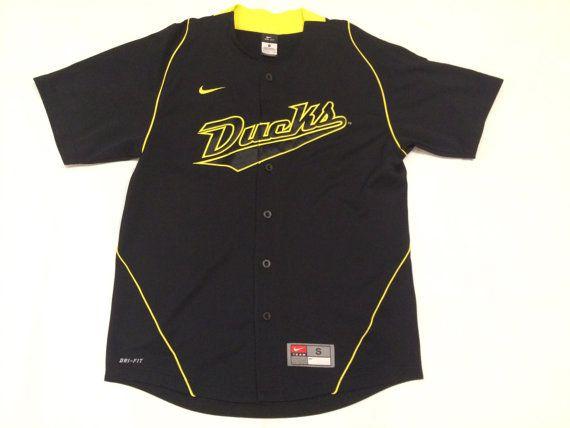 Oregon ducks nike baseball jersey mens pequeña por 90sBABYCLOTHING