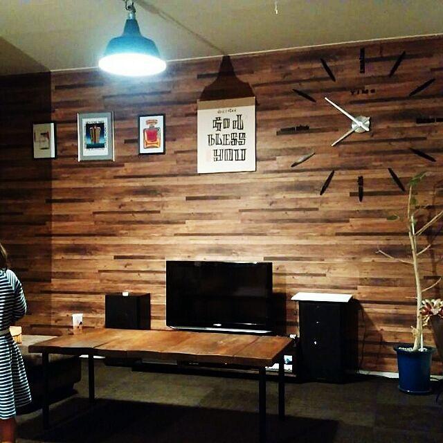 木目調壁紙 に関する部屋のインテリア実例の検索結果 Roomclip ルームクリップ Roomclip ルームクリップ 団地インテリア 部屋 インテリア 木目 壁紙