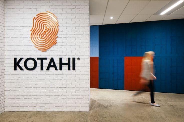 Autex Interior Acoustics - Etch™ - Custom Etch™ freight containers - Kotahi Logistics, Auckland, NZ - Colours: Brilliant Orange, Stonewash, Sanz & Civic