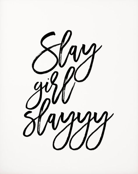Slay girl, slay! We #BlogBosses are always reedy to take on the day! Join www.theblogbar.com for inspiration, resources, and an amazing community of bloggers.