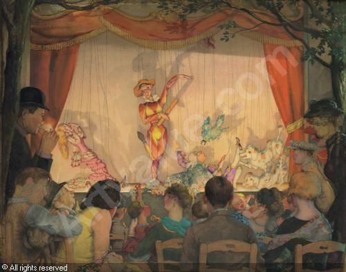 SOMOV Konstantin (Constantin) Andreievich - The puppet theater