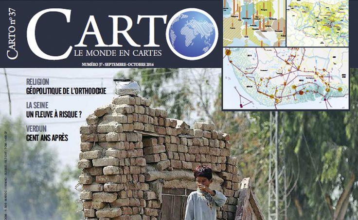 L'Atlas des migrations environnementales dans Carto
