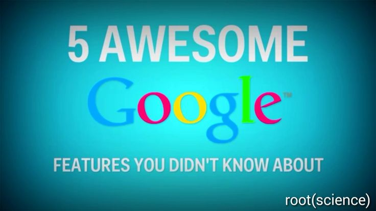 Amazing Google Features and tricks