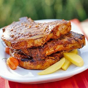 Diabetic Living Online has 17 recipes for amazing pork chops!  I'm trying the Spicy chicken and another one with Cauliflower asap!