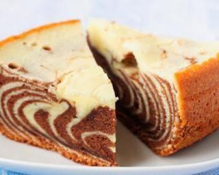 Gâteau zébré sans matières grasses
