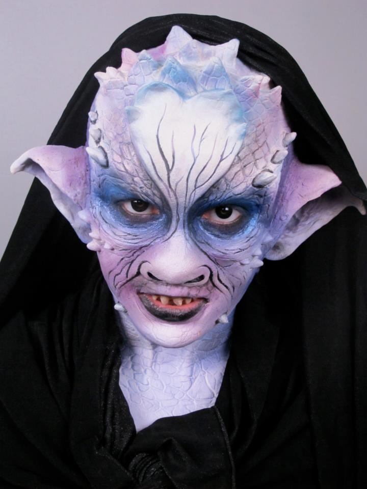 Great Demon by Ebony Kay! cms cinema makeup school