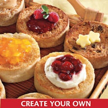 Wolfermans muffins in Kansas City.  Great gift ideas or treat yourself to a bunch of flavorful breakfast treats.