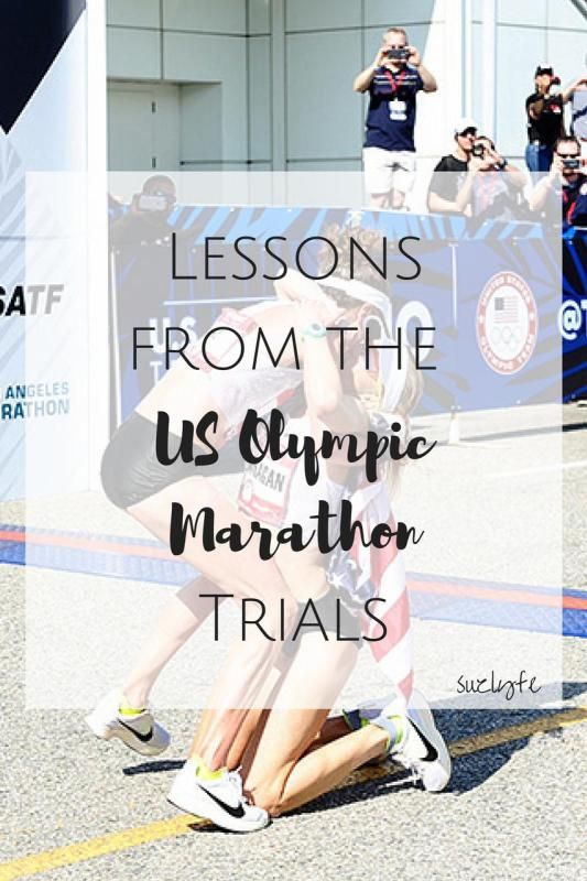 Running Lessons from the 2016 US Olympic Marathon Trials. Find out how to run your best race ever! @suzlyfe http://suzlyfe.com/top-running-lessons-from-2016-us-olympic-marathon-trials/