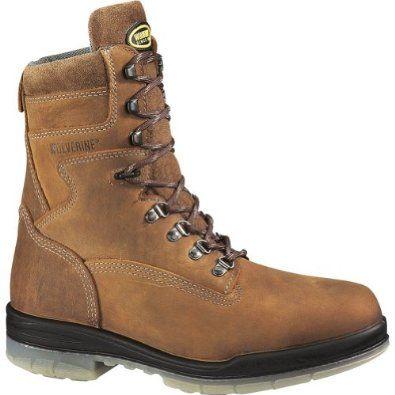 Wolverine Mens DuraShocks Work Stone Leather Boot 14 M US Wolverine. $139.99