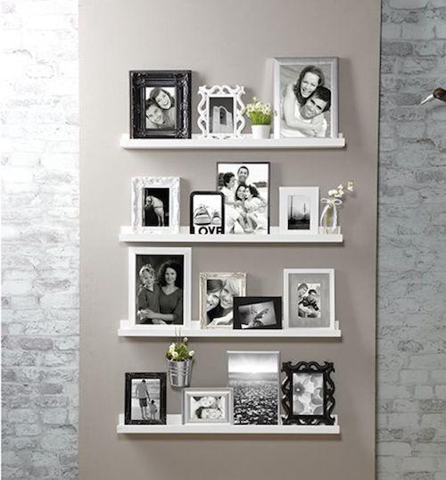 die besten 25 fotowand ideen ideen auf pinterest fotowand bilderwand ideen und wohnungsdeko. Black Bedroom Furniture Sets. Home Design Ideas