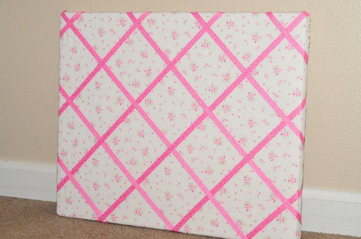 How To Make A Memo Board | Make It Pretty Wednesday: How to Make a Ribbon Memo Board! - Sippy Cup ...