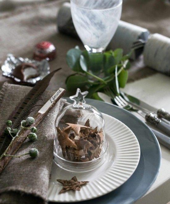 40 Ideen Fur Weihnachtliche Tischdeko Weihnachtsdekoration