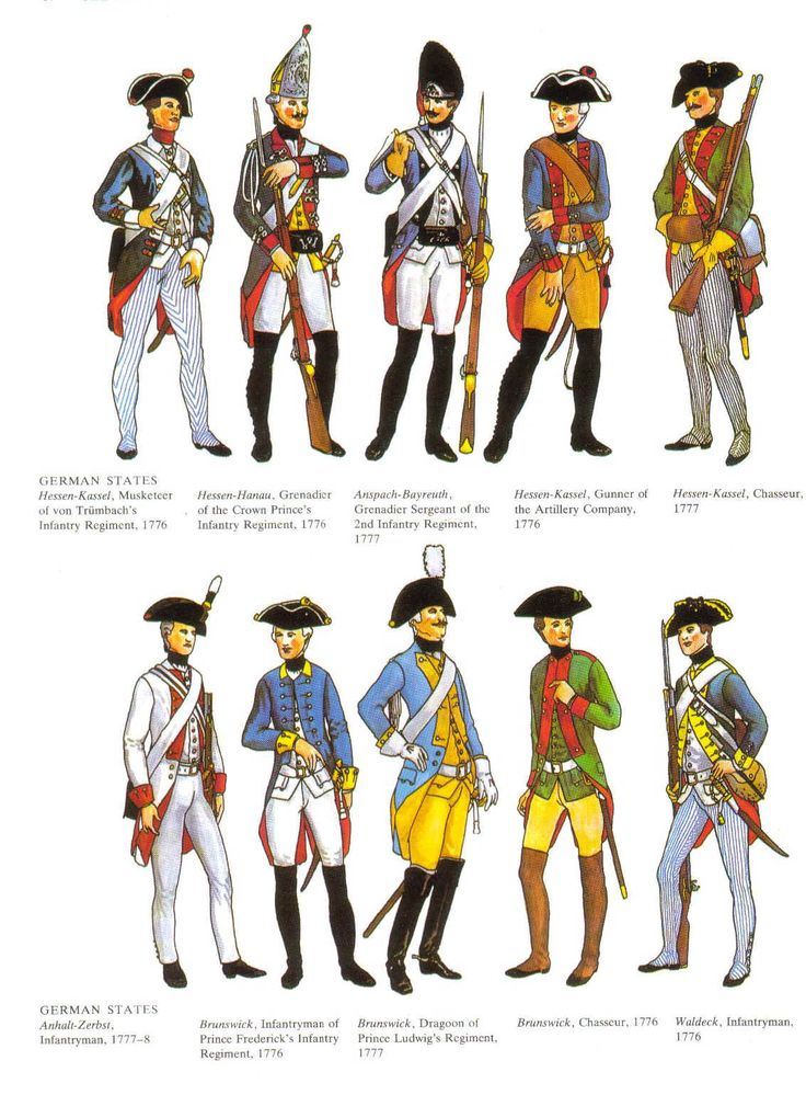 French And Indian War Provincial Uniforms Uniforms of the german