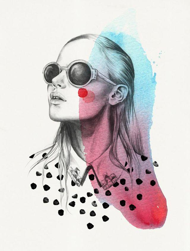 Ilustração de Esra Roise