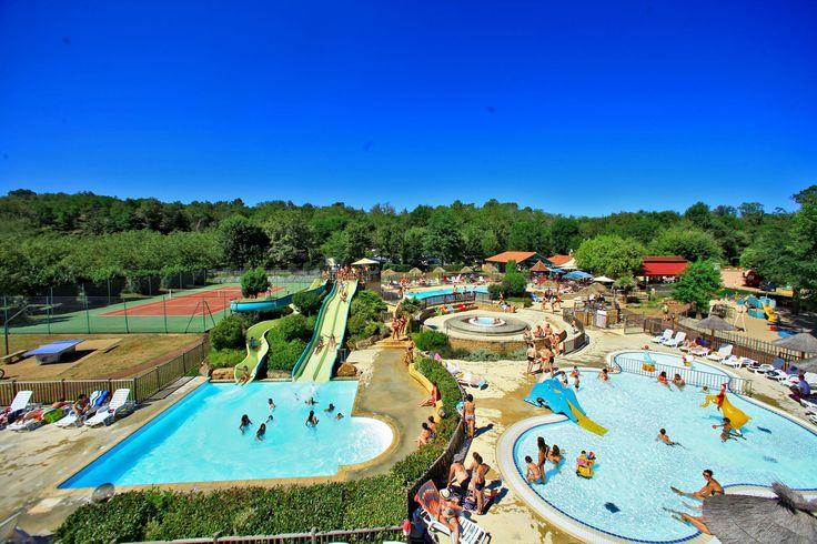 Camping Sarlat avec parc aquatique - Camping La Chataigneraie Sarlat  €1610 vr twee weken, safaritent met badkamer
