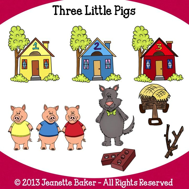 8 best images about three little pigs on Pinterest | Arts and ...
