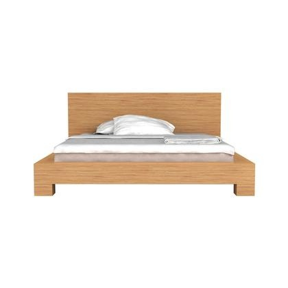 Eco Friendly Bamboo Orchid Contemporary Platform Bed By Greenington