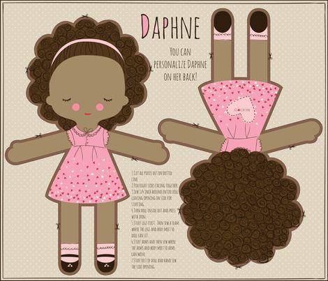 DAPHNE fabric by stacyiesthsu on Spoonflower - custom fabric