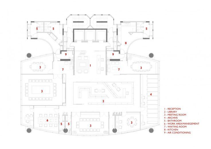 joseph j abhar example floor plan for a law office awesomely neat brazilian design milbank office