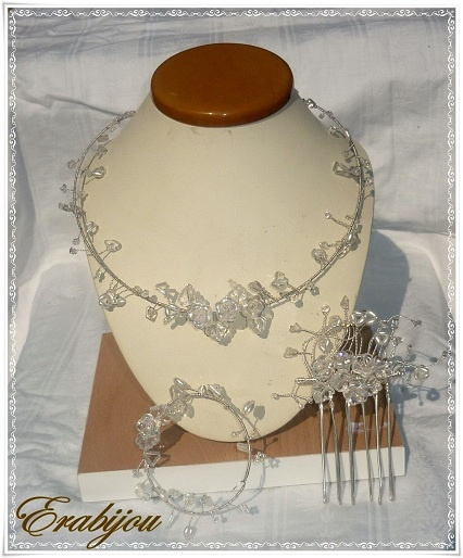 Esküvői ékszer készítő pályázat - Ráczné Görbe Erika (Erabijou) alkotása